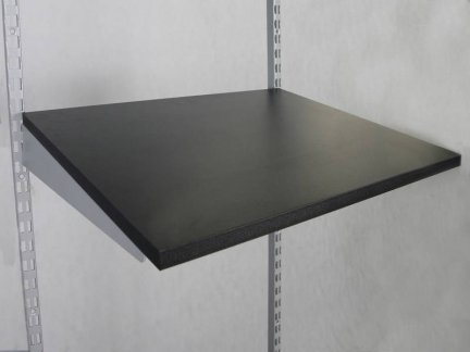 Shelf black, 60 x 40 cm