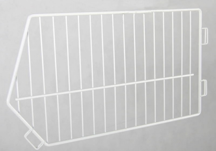 Wire separator for shopping basket 70 cm x 52 cm, white