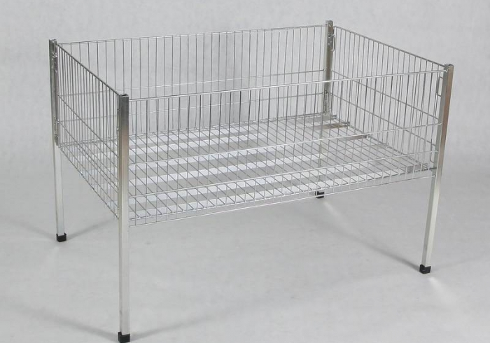 Exposition clothes basket made by wire - 120 x 80 x 60