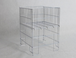 Exposition clothes basket made by wire - 78 x 55 x 55